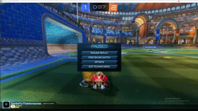 Watch and share Rocket League GIFs by danksforthememeories on Gfycat
