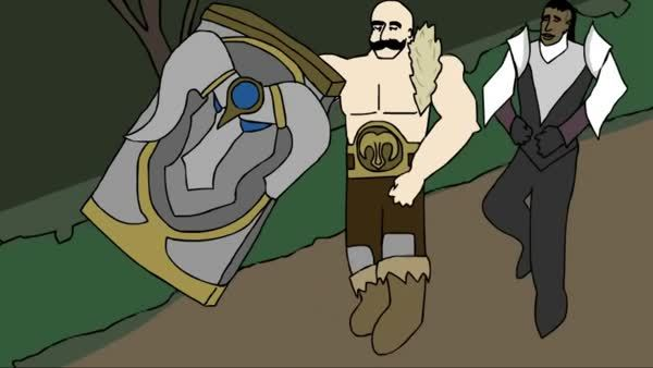 LeagueOfMemes, leagueofmemes, When your Support gets fed (reddit) GIFs