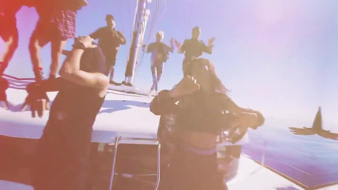 Krewella, Krewella - Team, Team, edm, music, Rockin' the boat GIFs