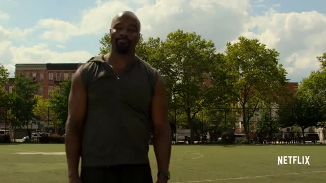 Watch Marvel's Luke Cage | Clip: The Show Off | Netflix GIF on Gfycat. Discover more 08282016ntflxuscan, Action, All Tags, Defenders, Drama, Hero, Marvel, comedy, cottonmouth, daredevil, mcu, netflix, plvahqwmqn4m09l4squtfb7xzlnour4uxl, plvahqwmqn4m2jezc8evur-rulwilvi0l8, punisher, streaming, television, trailer GIFs on Gfycat