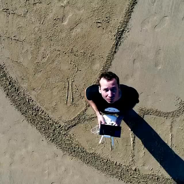 A massive leviathan sand mural (@jbenart) GIFs
