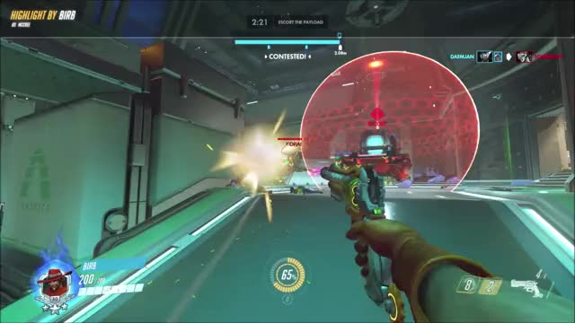 Watch Tracer GIF by @theich on Gfycat. Discover more highlight, mccree, overwatch GIFs on Gfycat