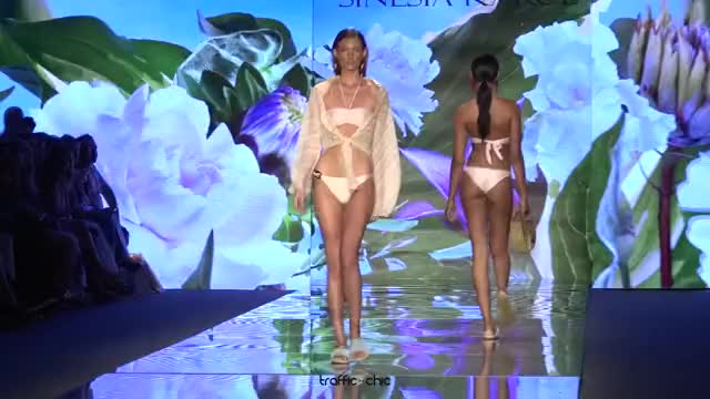 Watch SINESIA KAROL Resort 2019 Paraíso Fashion Fair-ou3b0lQR0Gk-Scene-029 GIF by @online3782 on Gfycat. Discover more related GIFs on Gfycat