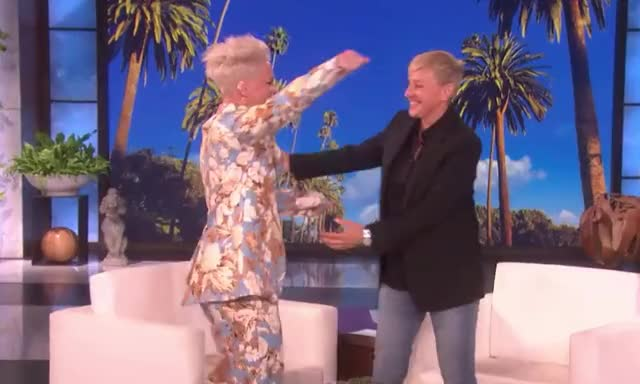 Watch this curated GIF by Super GIF (@supergif) on Gfycat. Discover more aww, degeneres, ellen, hug, hugs, love, miss, missed, much, nice, p!nk, pink, see, show, so, tight, to, you GIFs on Gfycat