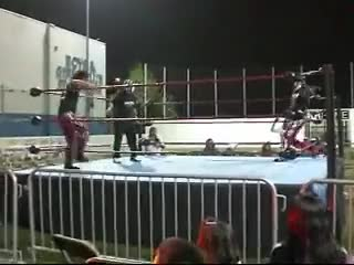 Watch Did it have to be the corner? GIF by Blaze Inferno (@metaknightxprophets) on Gfycat. Discover more Chimaera, Entertainment, Johnny Yuma, andrewxpulido, cal, pro, so, wrestling GIFs on Gfycat
