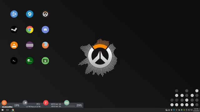 Watch and share Overwatch GIFs and Rainmeter GIFs by mooshire on Gfycat