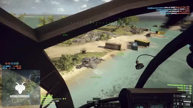 Watch [BF4] 2 Mins of Pure Helicopter Madness! Ft. FearlessMantiss Enjoy! GIF by HyenaFMG (@selectfmg) on Gfycat. Discover more 2019, Helicopter, battlefield, battlefield_4, bf4, crazy, epic, flying, funny, gamer, games, gaming, mantisscrew, piloting, playstation, ps4, selectfmg, stunts, twitch, youtube GIFs on Gfycat