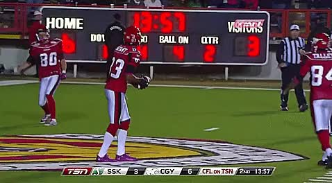 Watch and share Mcmahon Stadium GIFs and Johnny Forzani GIFs by Archley on Gfycat