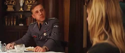 Watch and share Inglourious Basterds GIFs and Dessert GIFs on Gfycat