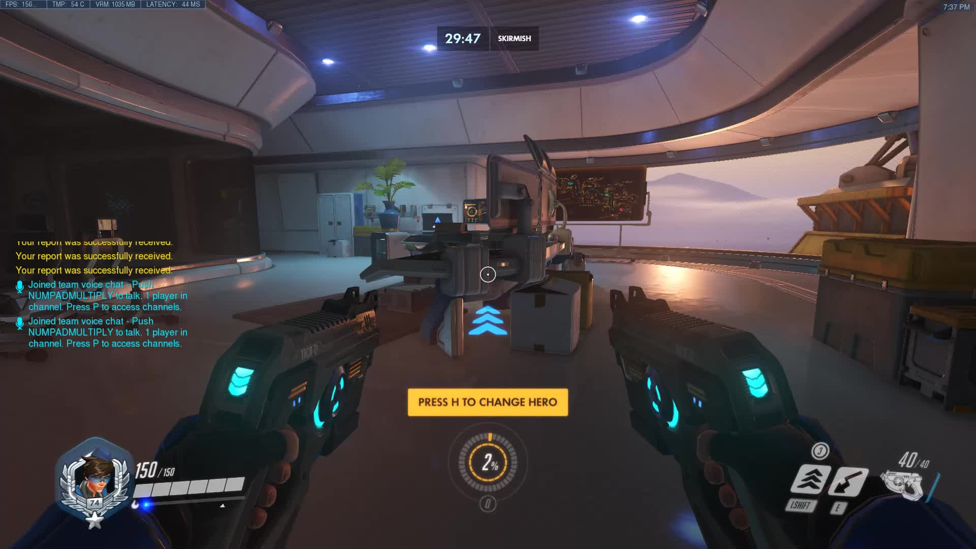 overwatch, Winstons monitors on Gibraltar are now breakable! GIFs