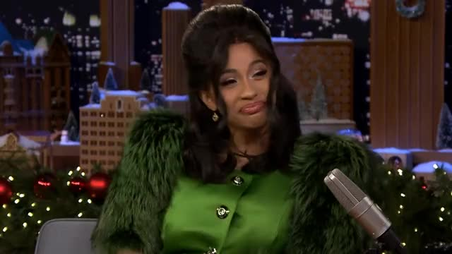 Watch this cardi b GIF on Gfycat. Discover more Cardi, Jimmy, NBC, SNL, Show, cardi, celebrities, clip, comedic, grammys, highlight, interview, interviews, jimmy, jokes, nbc, offset, rapper, show, snl, talent, television, tonight, underestimated, video GIFs on Gfycat