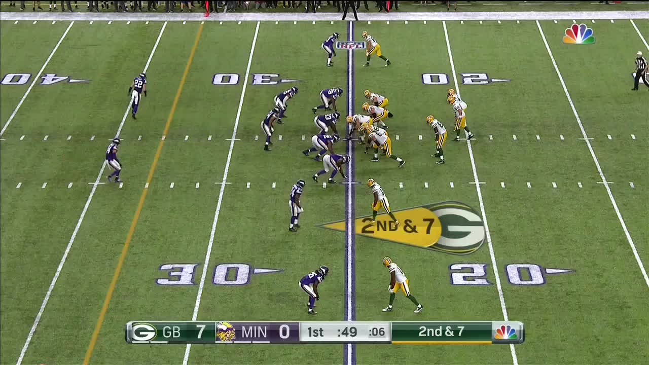 greenbaypackers, 2nd and 7 adams overthrow GIFs