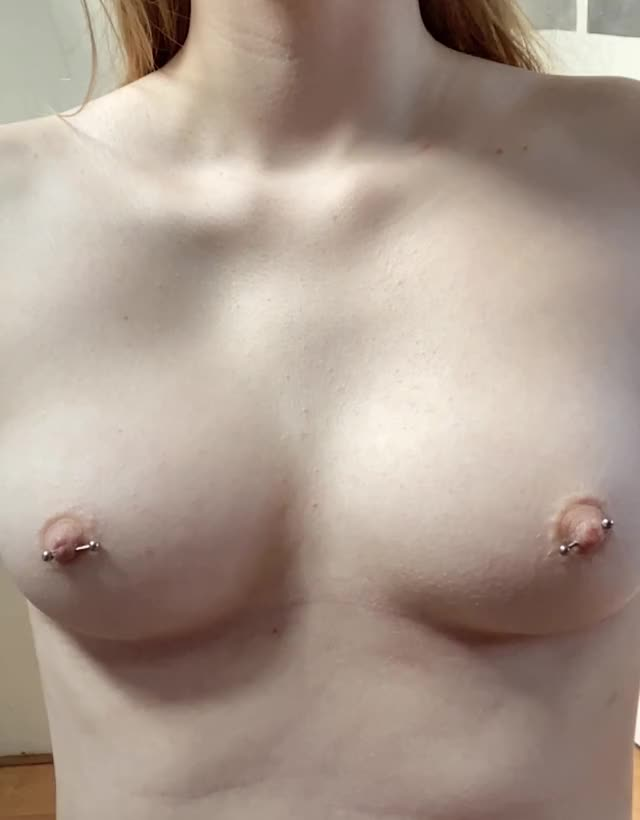 petite boobs bounce too... a little..