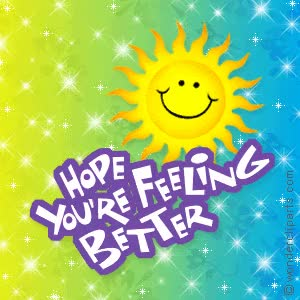 Kfab Honey Hope You Feel Better Clipart Gif Find Make Share