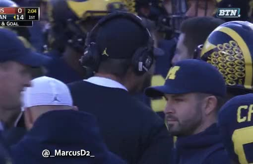 Watch and share Jim Harbaugh Glasses GIFs by MarcusD on Gfycat