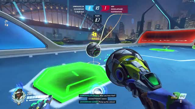 Watch and share Lucioball GIFs and Overwatch GIFs by UnrealKill3r on Gfycat
