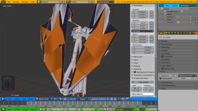 Blender - Common Mistakes and Tips by XCurtainX on DeviantArt