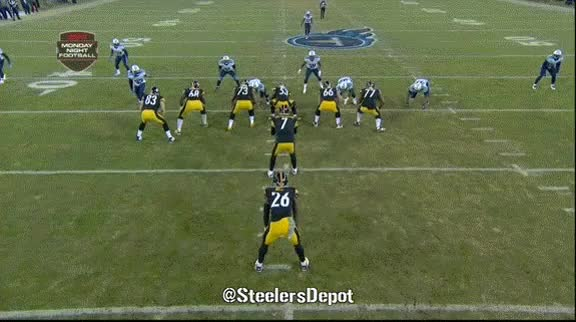 Watch and share Steelers Animated Gifs: RB Le'Veon Bell Goes For 200 Plus Against Titans - Steelers Depot GIFs on Gfycat