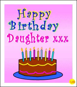 Watch and share Happy Birthday Daughter GIFs on Gfycat
