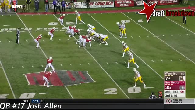 Watch and share Josh Allen Vs  New Mexico(2016) GIFs by wesdunphy on Gfycat