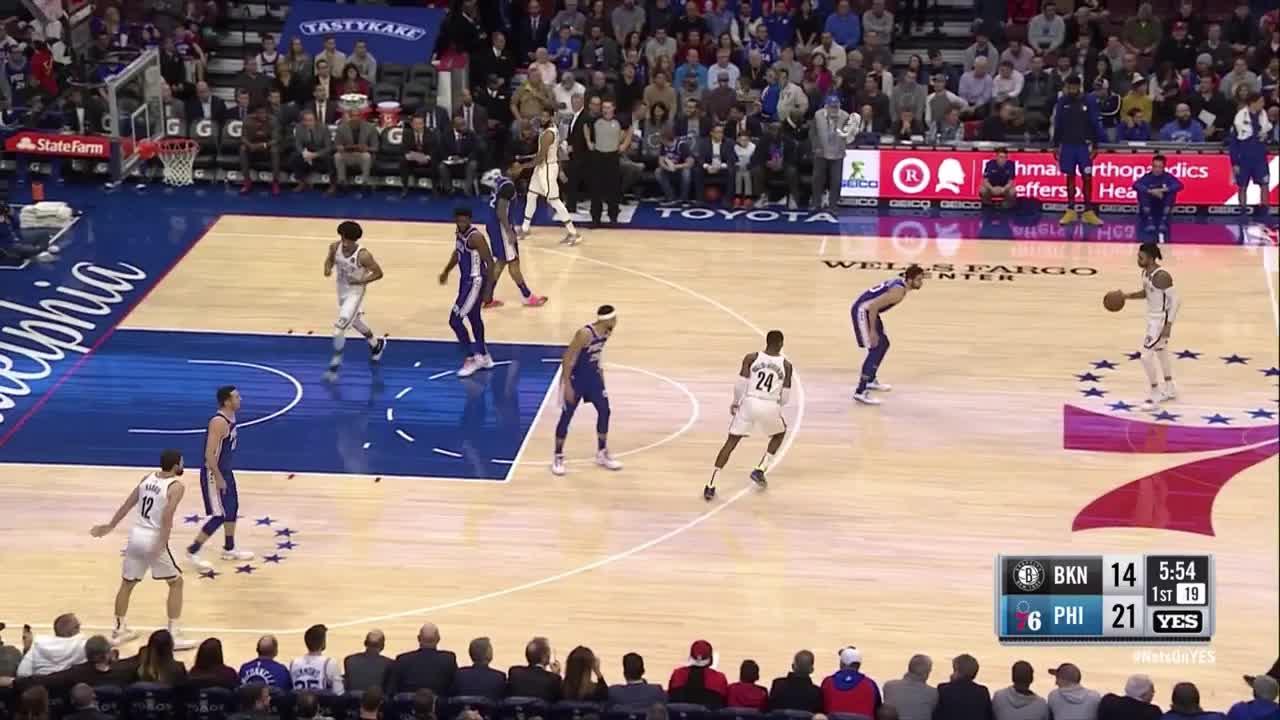 Brooklyn Nets, Philadelphia 76ers, basketball, Sixers Nets defence GIFs
