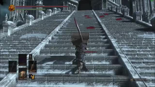 Dark Souls 3] Dragonslayer Armor and his long wide swings