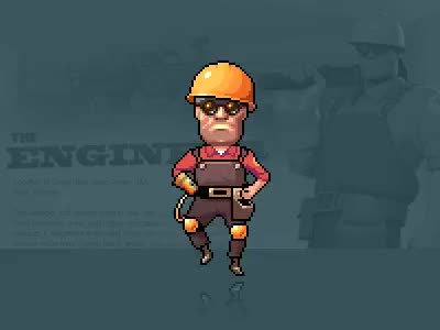 Watch and share Dancing Engineer : Tf2 GIFs on Gfycat