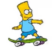 Watch and share Bart Skating GIFs on Gfycat