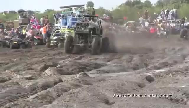 Watch and share Mud Trucks Gone Wild Okeechobee Mud GIFs on Gfycat