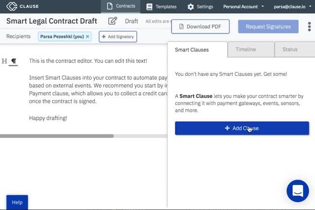 Watch Clause - Smart Service Level Agreement GIF on Gfycat. Discover more Clause, Smart Contracts GIFs on Gfycat