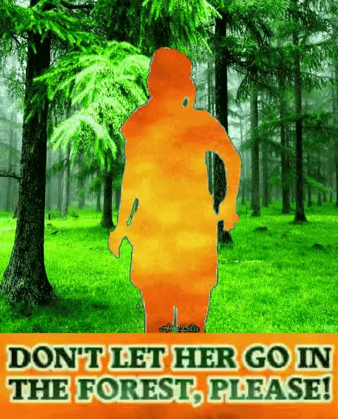 Watch and share Forest Fire Warning GIFs and Burning Girl GIFs by AtraBilis on Gfycat