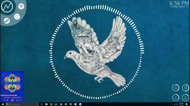 Watch and share Rainmeter GIFs on Gfycat