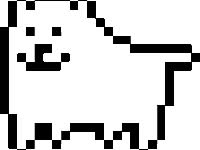 Watch and share Excited, Happy, Hyper, Undertale, Dog animated stickers on Gfycat
