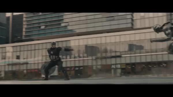 marvelstudios, Cap vs Ultron GIFs