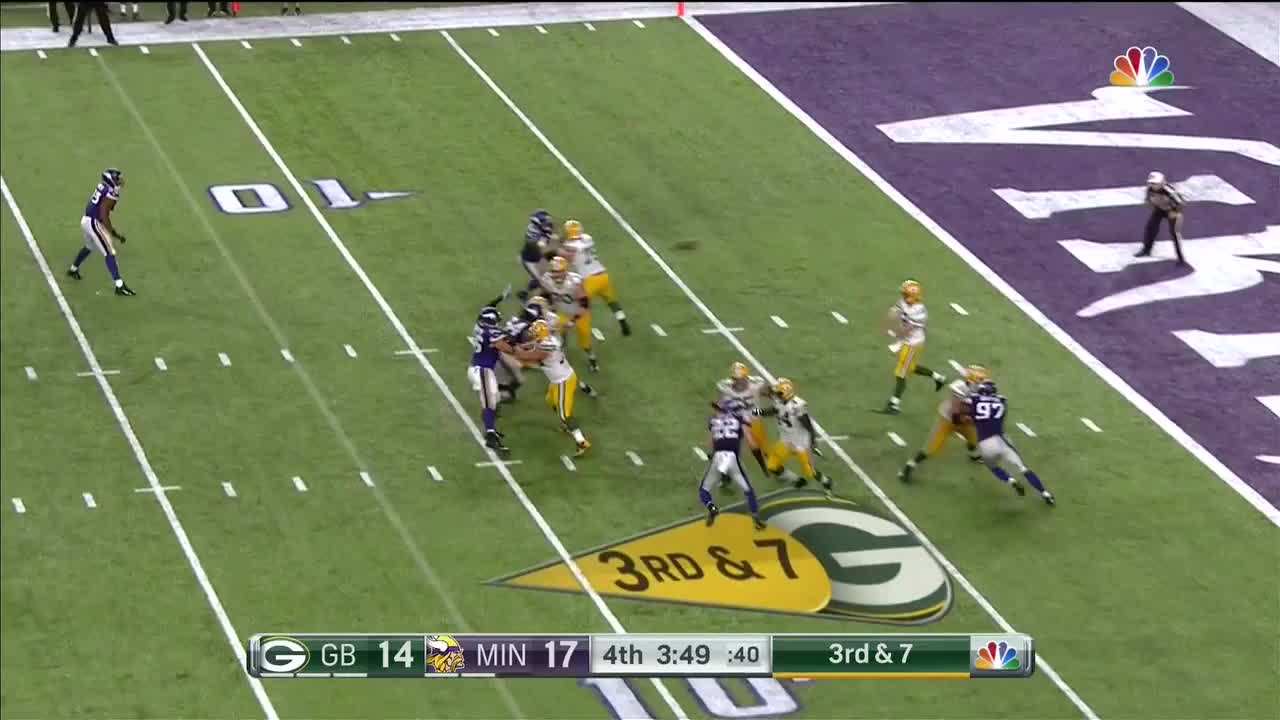 greenbaypackers, Cobb Over The Middle Gain GIFs