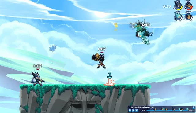 Watch and share Brawlhalla GIFs by heyoverhere on Gfycat