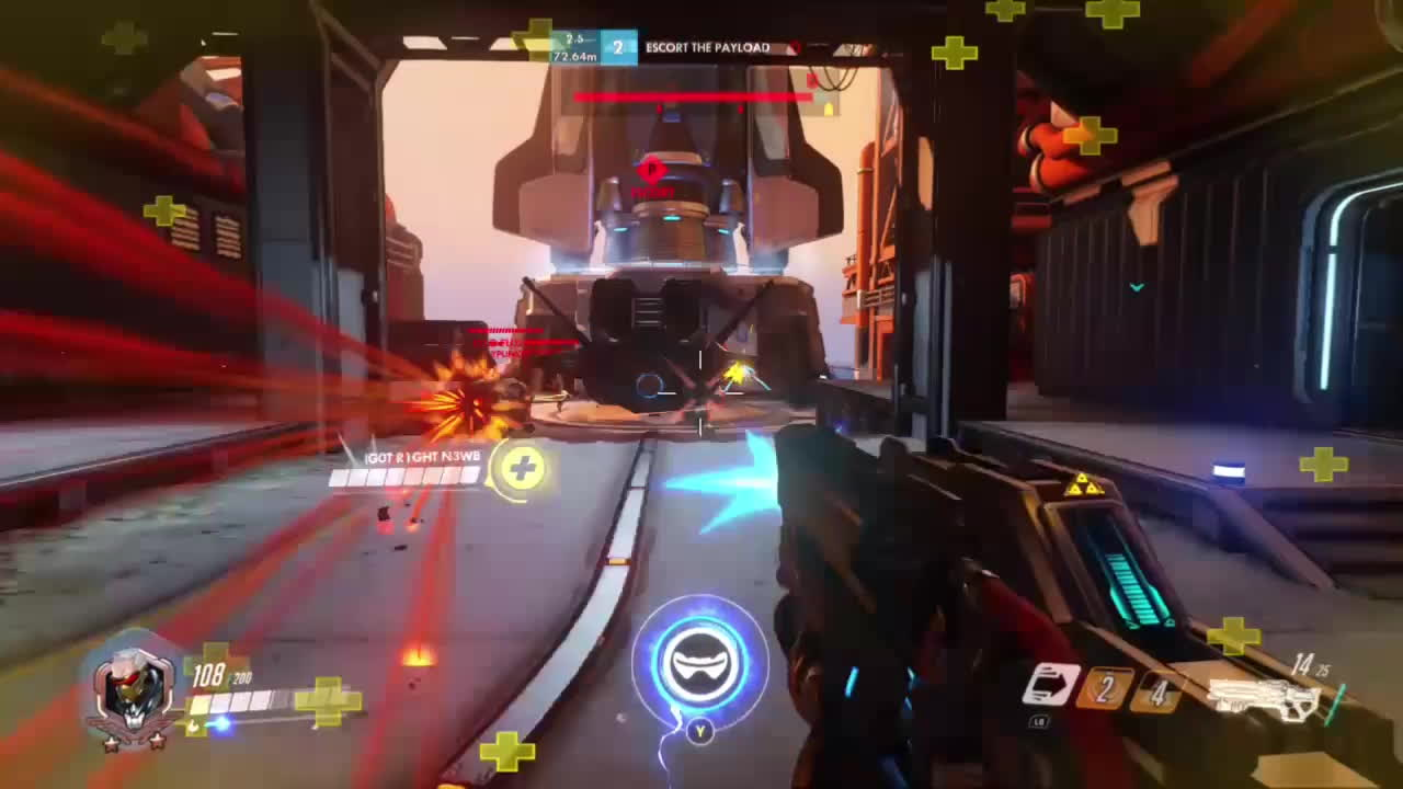 OWConsole, overwatch, owconsole, My first sixtuple kill GIFs