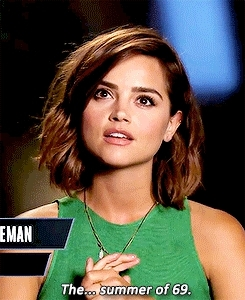 dwcastedit, edits: mine, gifs*, god she is so insane gorgeous, jcolemanedit, jenna coleman, jennacoleman*, pcapaldiedit, peter capaldi, truly, whatever you say makes a 6 inch exit wound in you! GIFs