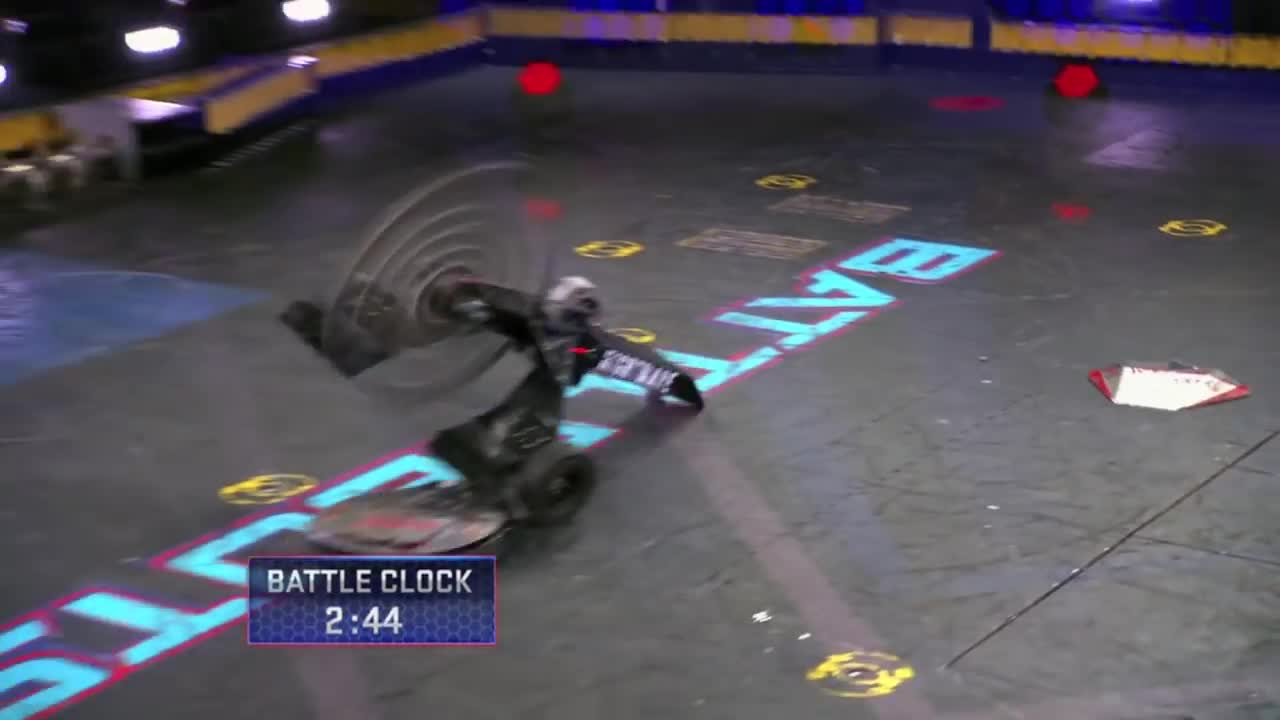 ABC, ABC Network, American Broadcasting Company, BattleBots (TV Program), TV, Television, Television Program, trailer, tv show, what to watch, Warrior Clan vs. Nightmare - BattleBots GIFs