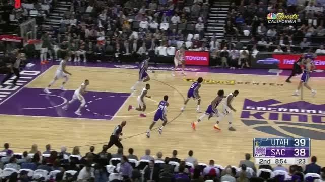 Watch Joe Ingles_Pull up 3_ Kings GIF by Ben Mallis (@benmallis) on Gfycat. Discover more Joe Ingles, Sacramento Kings, basketball GIFs on Gfycat