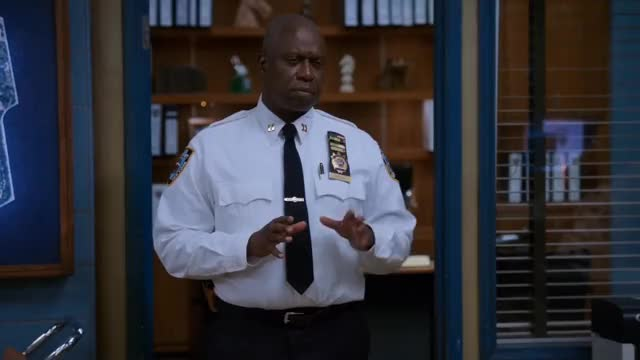 Watch and share Brooklyn Nine Nine GIFs and Andre Braugher GIFs by Unposted on Gfycat
