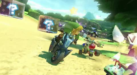 Watch and share Mario Kart 8 Deluxe GIFs on Gfycat