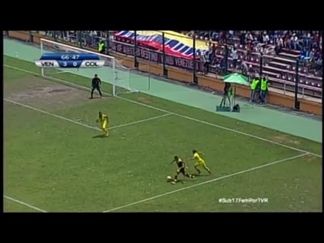 madtekkers, Segundo gol de Daniuska Rodriguez ante Colombia en el Sudamericano Femenino Sub 17 GIFs