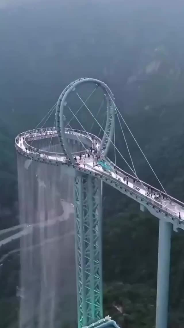Watch and share Glass Bridge China GIFs by GIFs For Everything on Gfycat