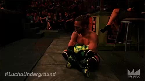 Lucha Underground - Oh, okay. Then I guess just pout. #LuchaUnderground @JackEvans711 GIFs