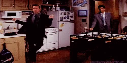 Watch and share Chandler Bing GIFs on Gfycat