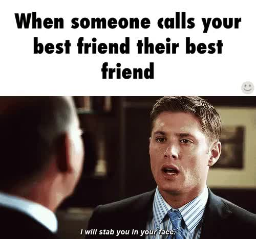 Watch this best friend GIF on Gfycat. Discover more best friend, bff, jensen ackles, meme GIFs on Gfycat
