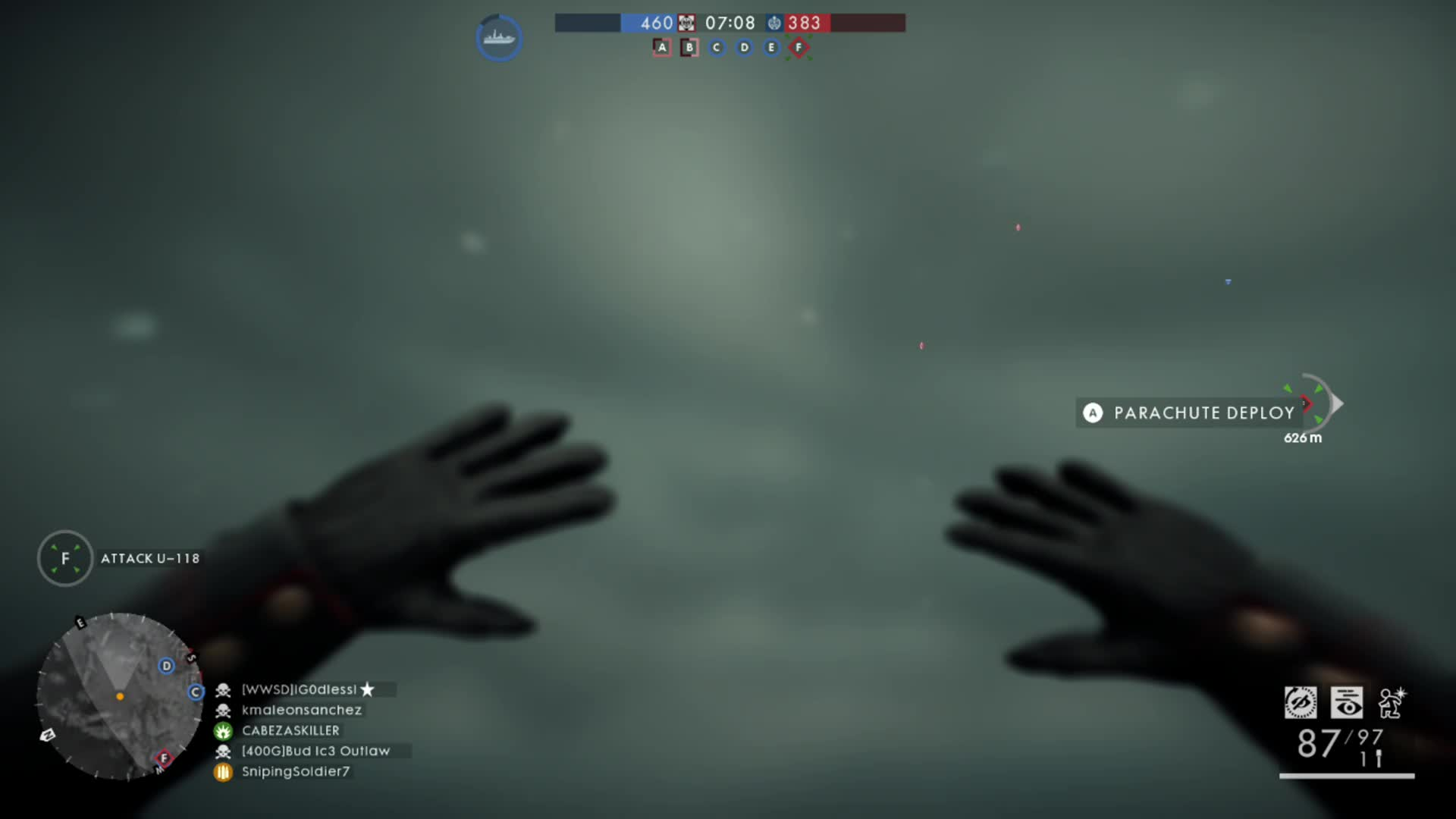battlefield one, Skydiving Through Water GIFs