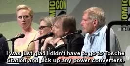 Watch and share Luke Skywalker GIFs and Carrie Fisher GIFs on Gfycat