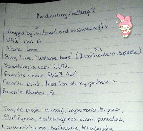 handwriting challenge, mine, Handwriting Challenge!Tagged by: milkswirl and aishiteangel  GIFs